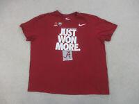 Nike Alabama Crimson Tide Shirt Adult 3XL XXXL Red College Football Mens A92*