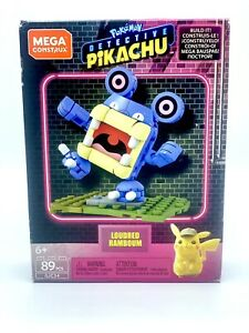 Mega Construx Pokemon Detective Pikachu Loudred Collectible Building Set NEW