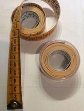 1 Metro da sarto sarta merceria 150cm colore giallo e bianco con scatolina