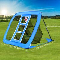 Pop Up Golf Swing Practice Chipping Net Indoor Outdoor Golfing Target Training
