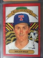 EROOR 1990 Donruss #665A Nolan Ryan King of Kings