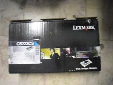 New ! GENUINE Lexmark C522 C524 C530 C532 C534 Cyan Toner C5222CS