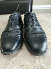 ALLEN EDMONDS BYRON BLACK LEATHER CAPTOE OXFORDS DRESS SHOES US MENS SZ 7 D