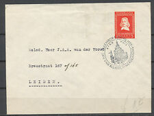 10+5c v. RIEBEECK EF RIEBEECKHERDENKING 5.APRIL.1952 LEIDEN      CP815
