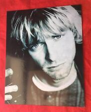 Kurt Cobain Nirvana 8 X 10 Photograph On Card Stock! Oliver Books! Free Ship!