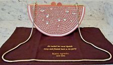 NWT KATE SPADE PINK JEWELED GRAPEFRUIT SLICE 'Flights of Fancy' CLUTCH PURSE