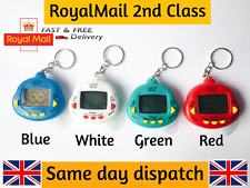 Durable 90s Tamagotchi Virtual Retro Dinkie Dino Pets 24 in 1 Key Chain Uk