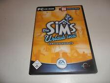 PC   Die Sims: Urlaub total