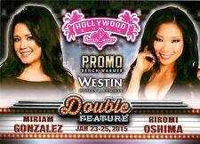 Miriam Gonzalez 8 2015 Bench Warmer Hollywood Show Promo Hiromi Oshima