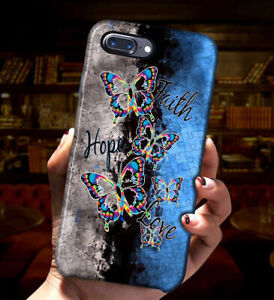 New Arrival Phone Case iPhone 12 Friend Gift Butterfly Puzzle Autism Mother Gift