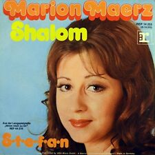 "7"" MARION MAERZ Shalom / S-T-E-F-A-N 45rpm REPRISE Schlager orig. 1973"