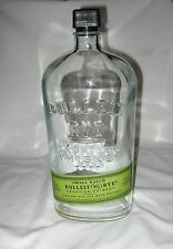 Empty Bottle Bulleit Rye Frontier Whiskey 1.75L Crafts Clear Glass