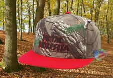 New Metal Mulisha Real Tree Camo Red Mens Snapback Cap Hat
