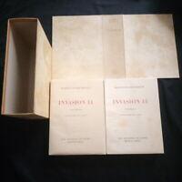 Maxence van der meersch: Invasion 14 Lithographies de G. Barret