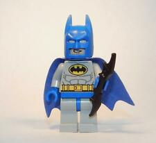 LEGO Light Gray Batman Minifigure Blue Mask and Cape 10724 10672 FREE Grab Bag