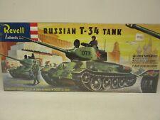 Revell #H-538:129, Russian T-34 Tank W/5 Man Crew