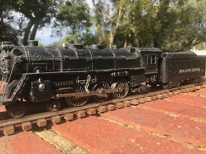 Marx Steam Locomotive-Tender #333 Die-Cast body Runs Nice Estate Sale Find NR !