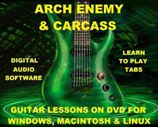 Arch Enemy Guitar TAB Lesson CD 279 TABS 34 Backing Tracks + MEGA BONUS Carcass