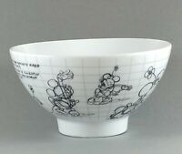 Disney Minnie Mouse Bowl 2008 Sketchbook Cereal Ice Cream Bowl  5.5""