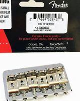 """NEW Bridge FENDER HARDTAIL  0060068000 -chrome toutes guitares """"through body"""""""