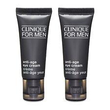 2 PCS Clinique for Men Anti-Age Eye Cream 15ml Anti-Aging Line Wrinkle #16104_2