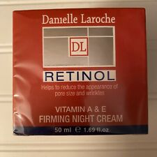 Danielle Laroche DL Retinol Firming Night Cream Vitamin A & E New 1.69 fl oz