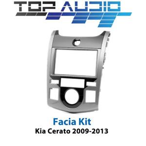 fit Kia Cerato Koup TD car radio Double 2 Din fascia dash panel facia kit