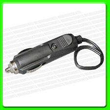 Pre Wired Fused Cigar Lighter Plug Aux 12 Volt  [PWN738]