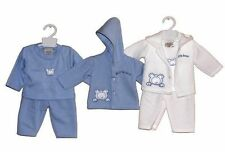 Boys' Cotton Blend Embroidered Outfits & Sets (0-24 Months)