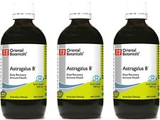 3 x 200ml ORIENTAL BOTANICALS Astragalus 8 (Slow Recovery, Immune Health) 600ml