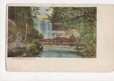 Minnehaha Falls Vintage U/B USA Postcard 506a