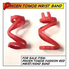 PHICENTBLeague Tomoe Samurai Spiral Design Wrist Guard/Bands fit 1/6 scale Toys