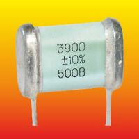 3900 pF 500 V 10 % LOT OF 2 RUSSIAN MILITARY SILVER-MICA CAPACITORS SGM-3 СГМ-3
