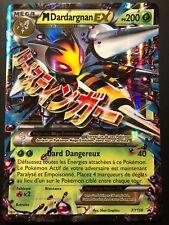 Carte Pokemon M DARDARGNAN XY158 Mega PROMO EX XY Français NEUF JUMBO