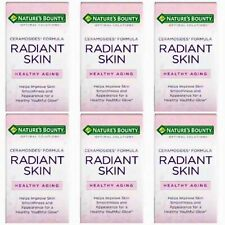 6 PACK NATURE'S BOUNTY OPTIMAL SOLUTION RADIANT SKIN SOFTGEL 40 CT EXP 05/19 NEW