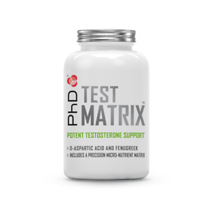 PhD Test Matrix, Testosterone support capsules ( 30 day supply)