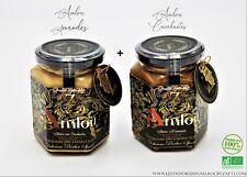 Amlou Lot de deux pots (biol) de (300g chacun aux amande et aux cacahuètes  )