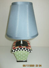 Mary Engelbreit Lamp & Shade-Cottage (Rare Find)