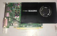 Dell NVIDIA Quadro K2200 4GB 128-bit GDDR5 Workstation PCIe Video Card