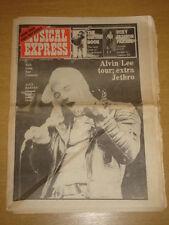 NME 1974 OCT 19 ELP ALVIN LEE ALEX HARVEY BAD COMPANY