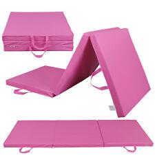 Fitness  Exercise Mat Tri-Fold Gym Portable Gymnastics Aerobics Yoga for Home