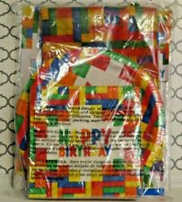 Building Block Party Supplies NEW