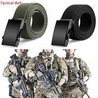 mode les militaires la toile la tactique ceinture ceinture corps boucle gaines