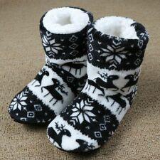 Winter Fur Slippers Women Warm House Slippers Plush Flip Flops Christmas Cotton