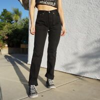 Women`s Vintage Levi`s 501 High Waisted Mom Jeans UK 12 / W32 L36
