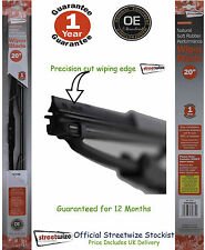 """Streetwize Natural Soft Rubber Performance 20""""  Wiper Blade 12 Month Guarantee"""
