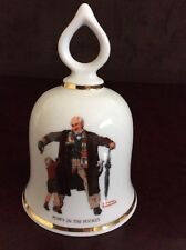 """Puppy In The Pocket� Vintage Norman Rockwell Collectible Bell - 1979 Ltd Ed."