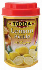 TOOBA Pickle Lemon/ Lime Pickle |Spicy & Sour| 1KG jar