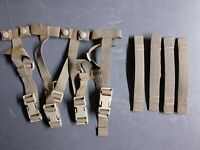 2 Sets Eagle Industries USMC MOLLE Strap Buckle Adapter SPC Repair Kit Coyote