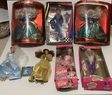 Lot Of 12 Barbie And Walt Disney Dolls New And Used Great Condition Make Offer